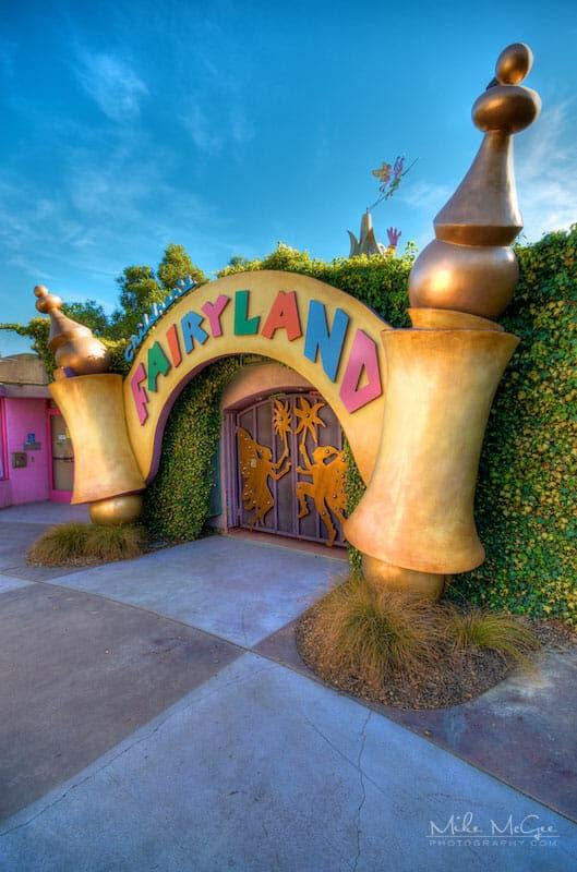 Children's Fairyland Main Entrance Oakland California