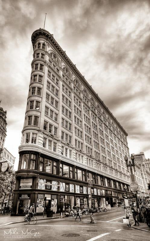 Phelan building located in San Francisco California