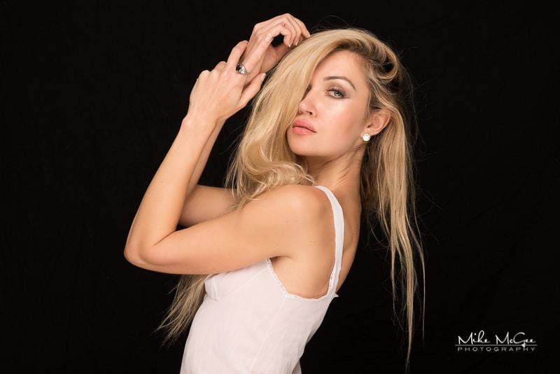 dasha model portrait headshot