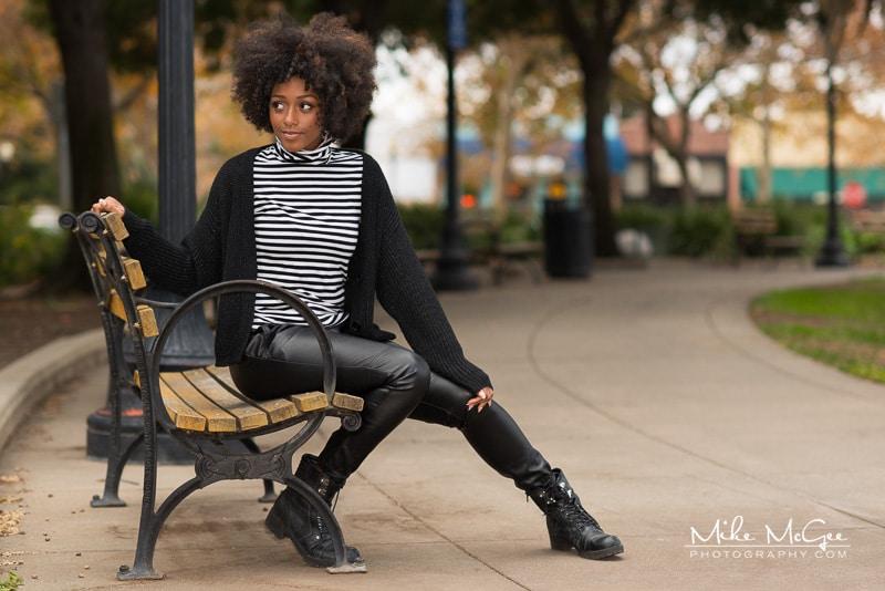 Model Credit: Jaida. Portraits taken outdoors in Suisun City, CA