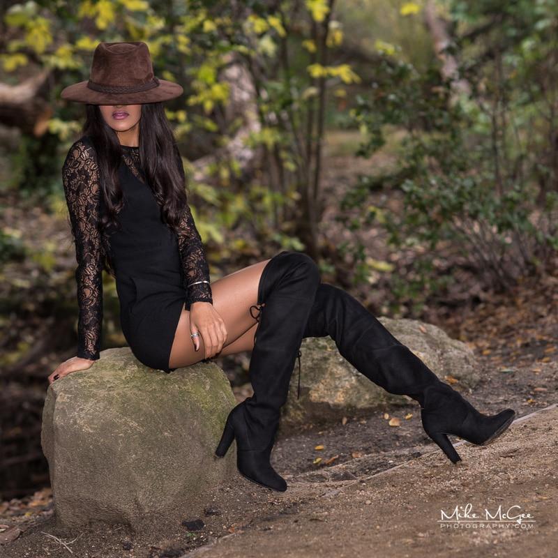 Model Credit: Miss Bay Area. Location: Dublin, CA