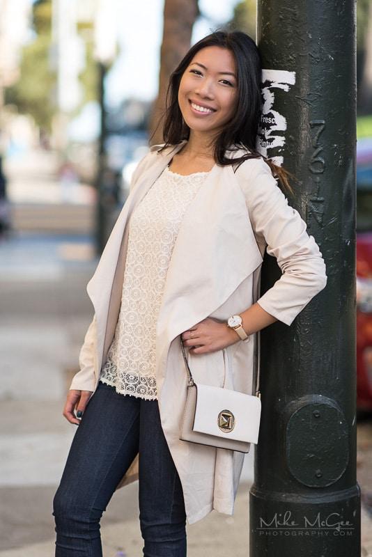 Model Credit: Pearl Y. Location: San Francisco, CA