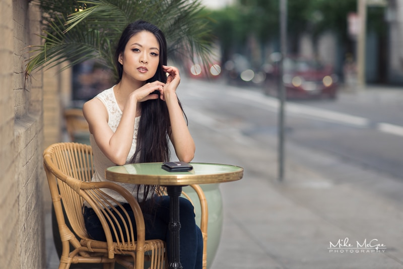 Chan Chuan Chen Downtown Editorial Shoot