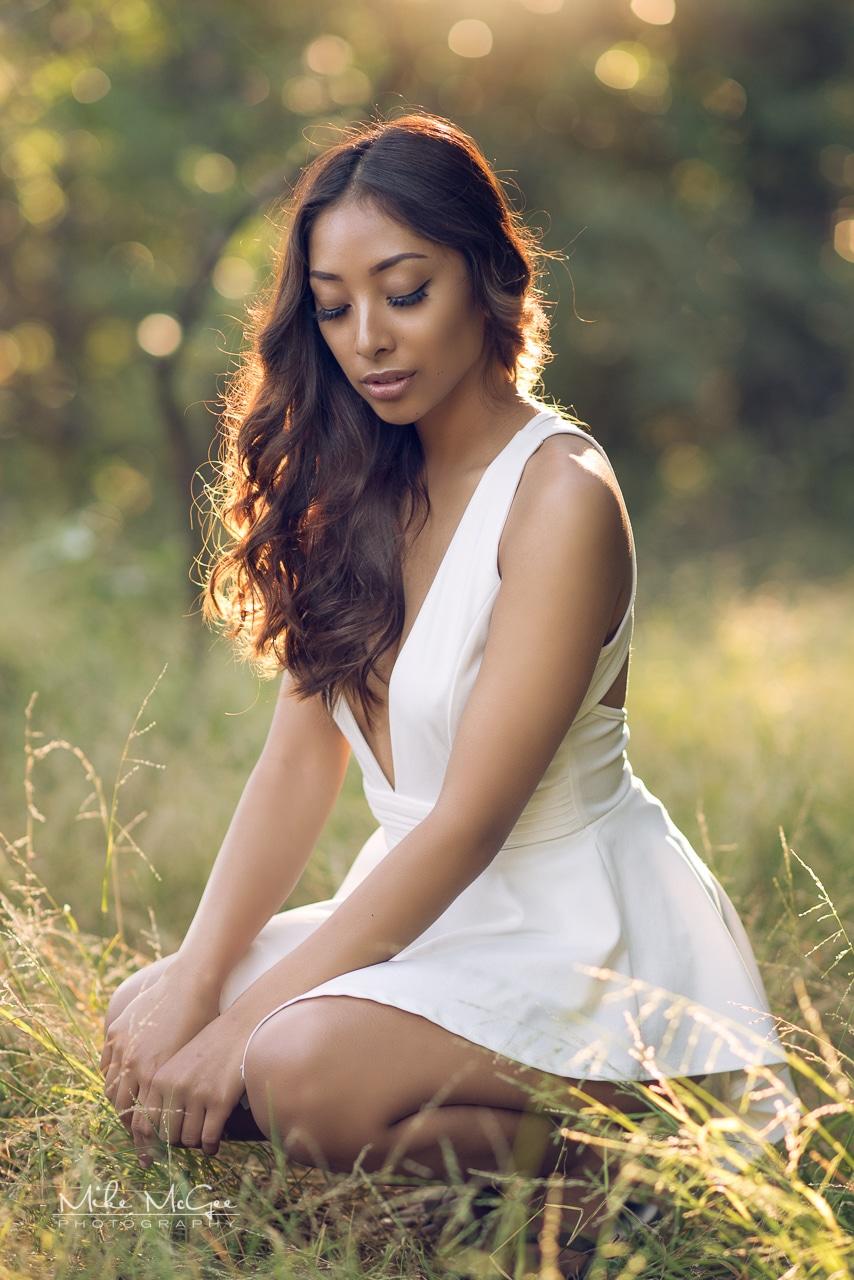 Sheila Bauzon Sunset Portrait