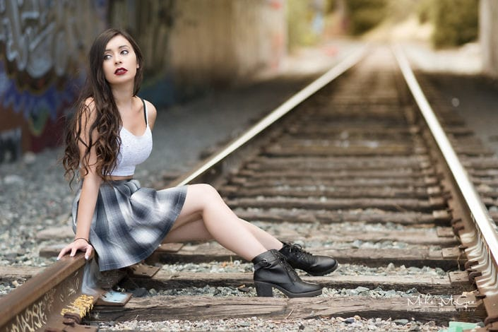 Portrait & headshot photography. Model Credit: Anya