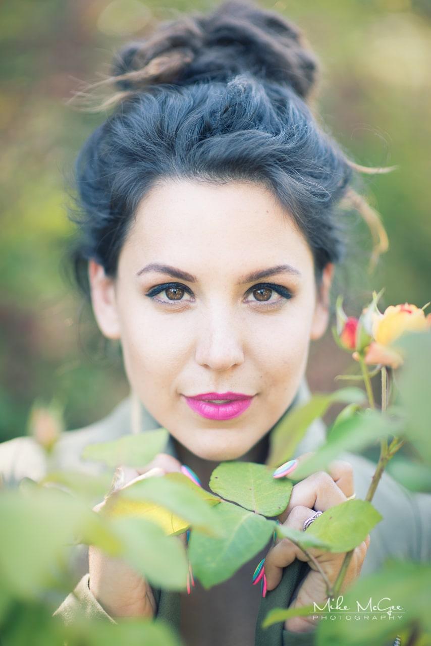 Portrait & headshot photography. Model Credit: Libby