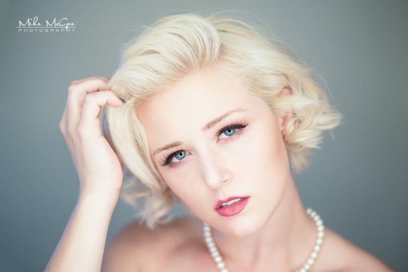 Meg Vega Ring-light Portrait