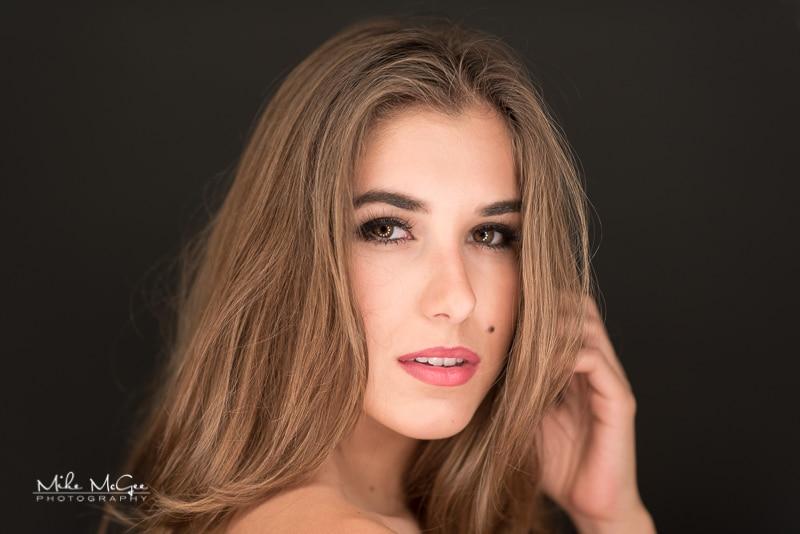 Background: Thunder Gray. Model Credit: Olga.
