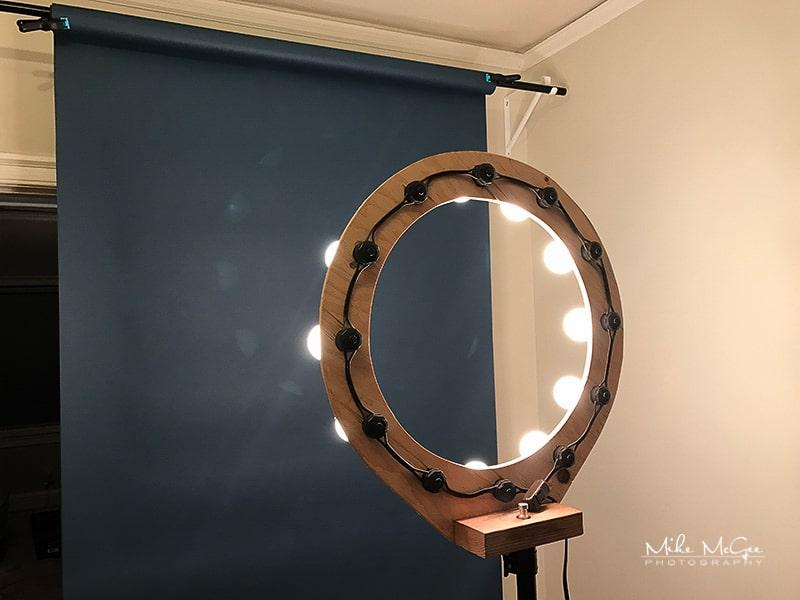 Behind the Scenes Setup, Ring Light & Ultramarine