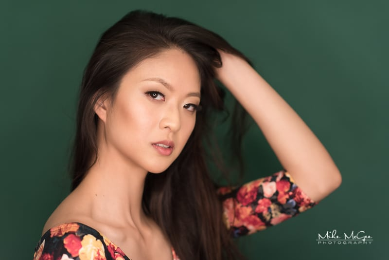 Model Headshot / Portrait Chan Chuan Chen