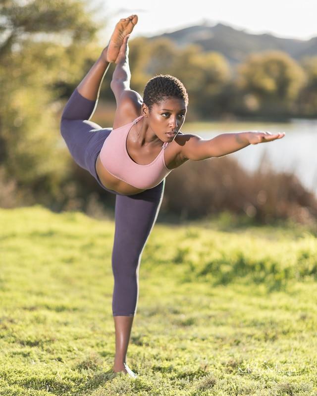 Jaida Model Yoga Fitness Shoot