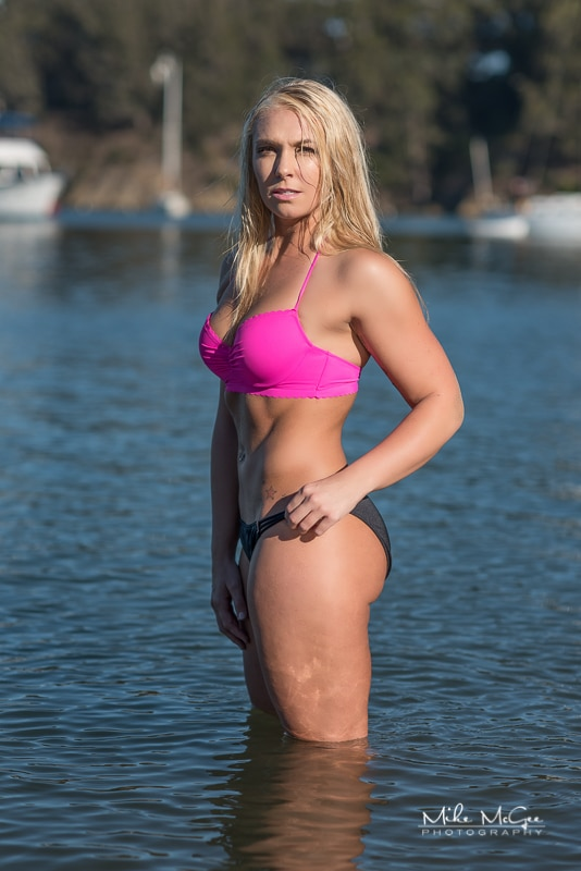 Mandi fitness activewear swimwear photoshoot