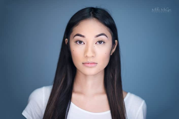 Anna Cruz ringlight beauty headshot photographer san francisco bay area