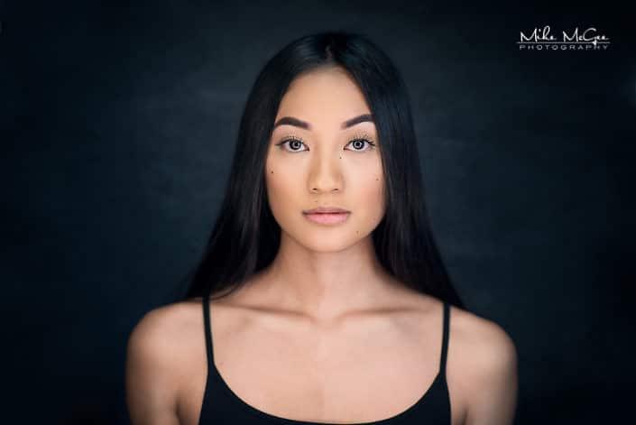 Anna Cruz ringlight beauty headshot photographer san francisco bay area
