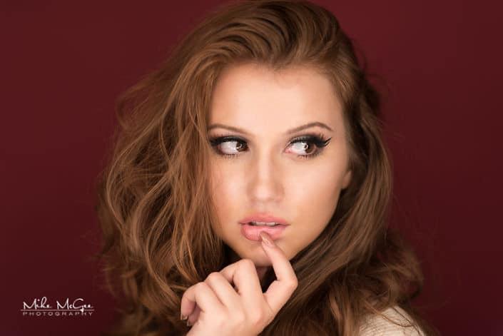 Caitlin ringlight beauty headshot photographer san francisco bay area