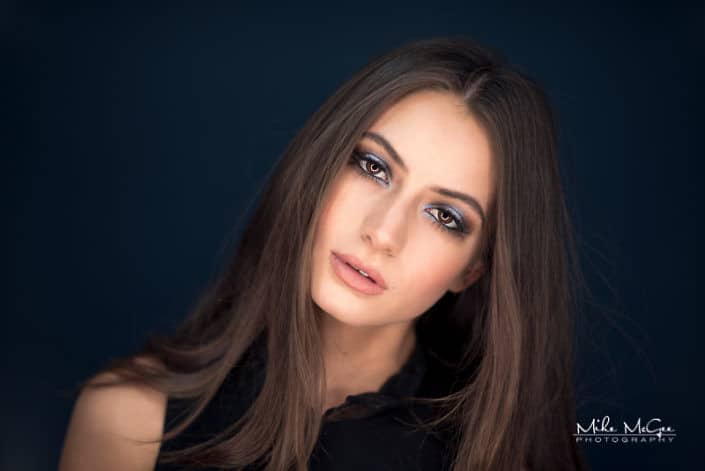 Celeste Traxler ringlight beauty headshot photographer san francisco bay area