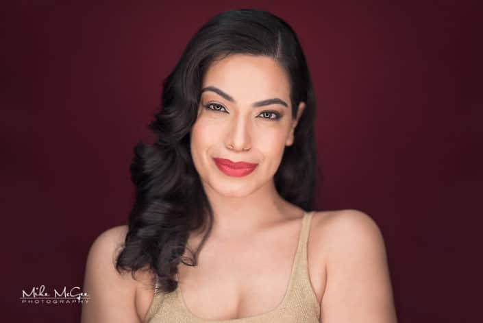 Letty Loera ringlight beauty headshot photographer san francisco bay area