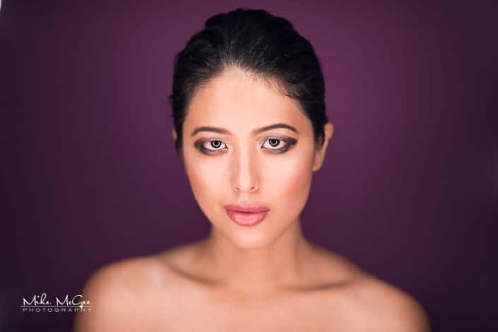 Modeltechie Fan-Pei Koung ringlight beauty headshot photographer san francisco bay area
