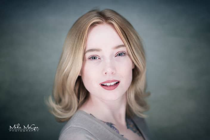 Summer Lambert ringlight beauty headshot photographer san francisco bay area