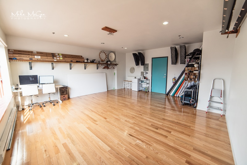 Mike McGee Photography Studio Building Interior