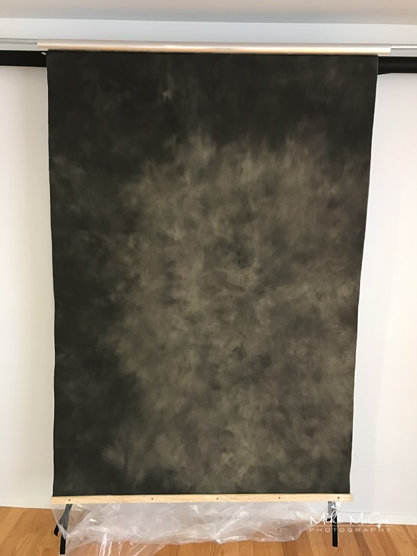 Savage Universal Painted Canvas Backdrop - Eclipse Gray Color Review