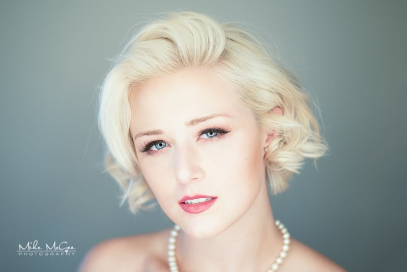 Meg Vega Ringlight Beauty Headshot portrait photographer san francisco bay area