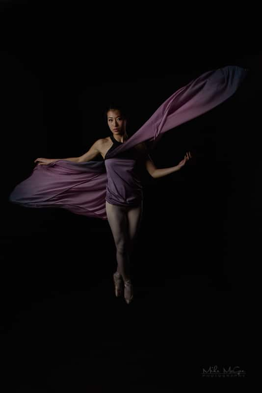 Jiajia Artistic ballet portrait series photographer san francisco bay area