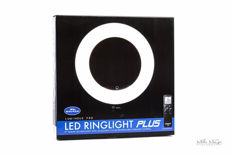 Savage Universal Luminous Pro LED Ringlight Plus Review Mike McGee Portrait Photographer