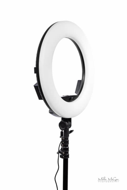 Savage Universal Luminous Pro LED Ringlight Plus Review Mike McGee Portrait Photographer