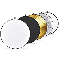 Neewer 43-inch 5-in-1 Collapsible Multi-Disc Light Reflector
