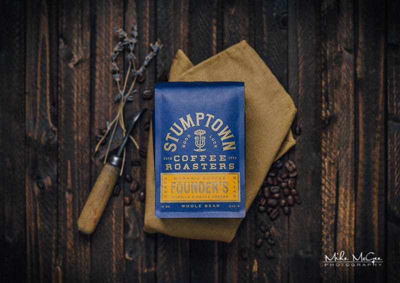 Stumptown Coffee Product Photography Shoot