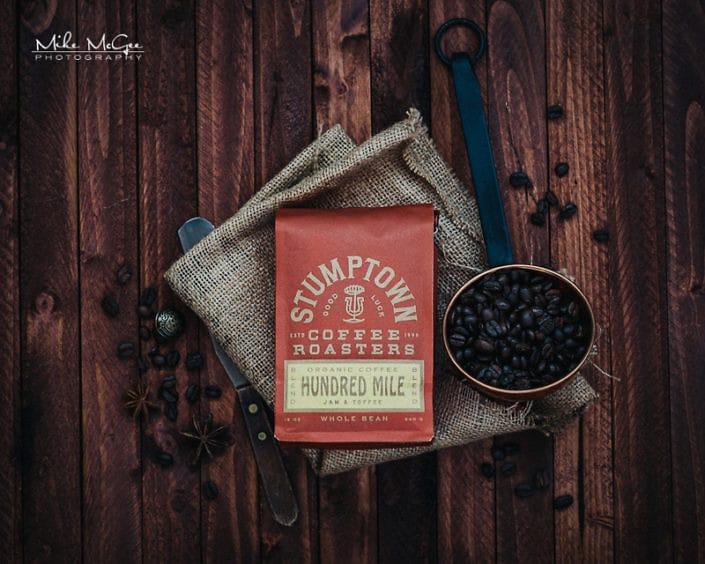 San Francisco Bay Area Natural Light Food Advertising Product Photographer Stumptown Coffee