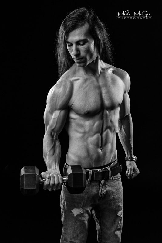 Elad Mike McGee san Francisco bay area fitness and bodybuilding photographer