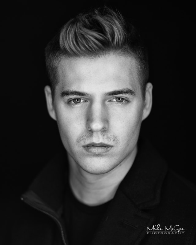 Jeremy Mike McGee San Francisco Bay Area Male Modeling Headshot Photographer