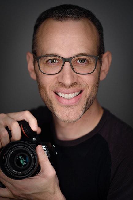 Mike McGee self portrait ringlight photo headshot