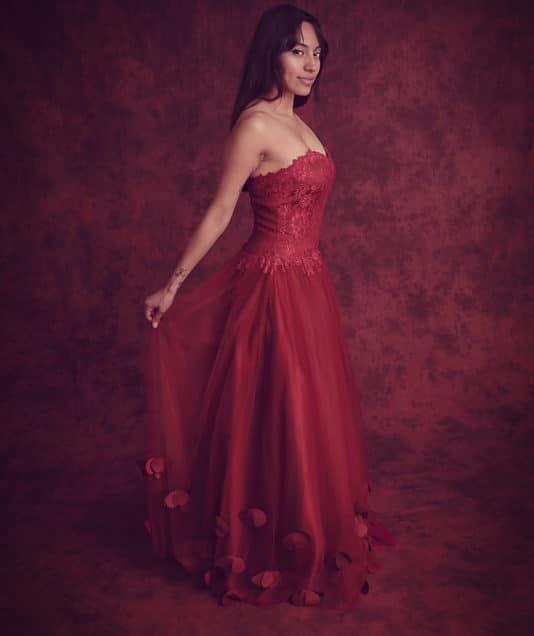 Karina Formal Gown Shoot – Savage Sedona Crushed Muslin