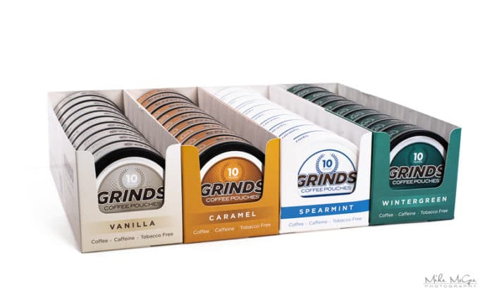 San Francisco Bay Area Amazon Photographer Grinds Coffee Pouches E-Commerce Online Product Photographer