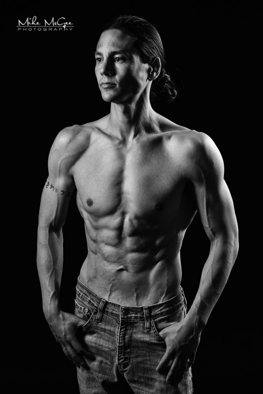 Nate - Mike McGee San Francisco Bay Area Yoga and Fitness & Bodybuilding Photographer