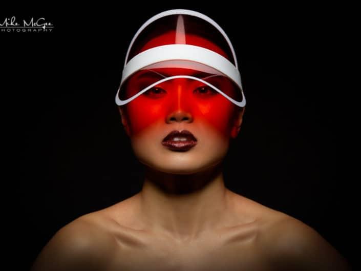 Hypercolor colored gel artistic creative portrait photographer san francisco bay area album cover